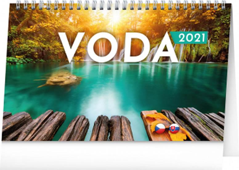 KALENDÁŘ VODA 2021