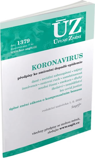 ÚZ 1379 KORONAVIRUS