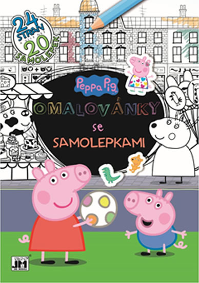 OMALOVÁNKY SE SAMOLEPKAMI PEPPA PIG