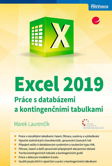 EXCEL 2019 PRÁCE S DATABÁZEMI