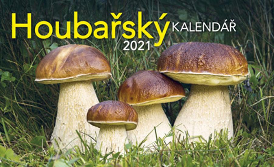 KALENDÁŘ 2021 STOLNÍ HOUBAŘSKÝ
