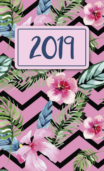 Diář 2019: Tropical/kapesní týdenní