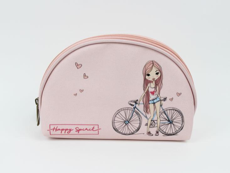 Kosmetická taštička M Dívka - Happy Spirit Design