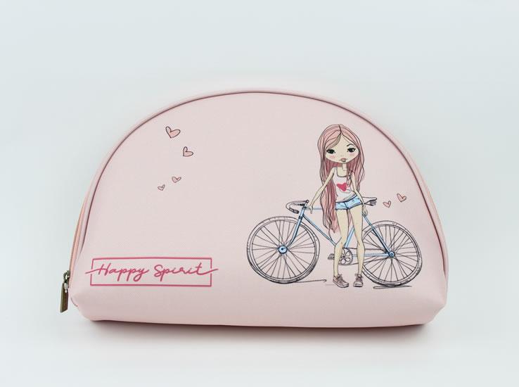 Kosmetická taštička L Dívka  - Happy Spirit Design