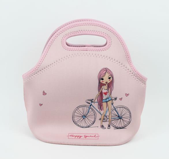 Svačinová taška Dívka - Happy Spirit Design
