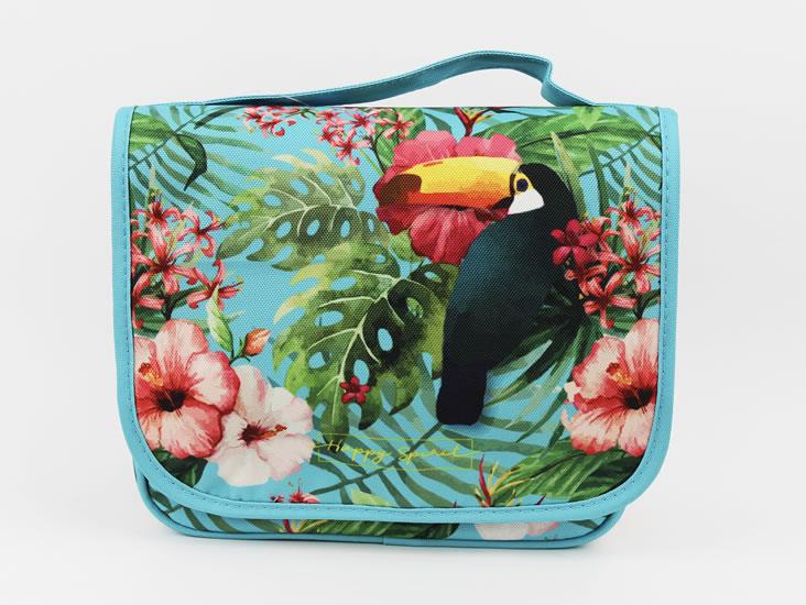 Cestovní kosmetická taška Tropical - Happy Spirit Design