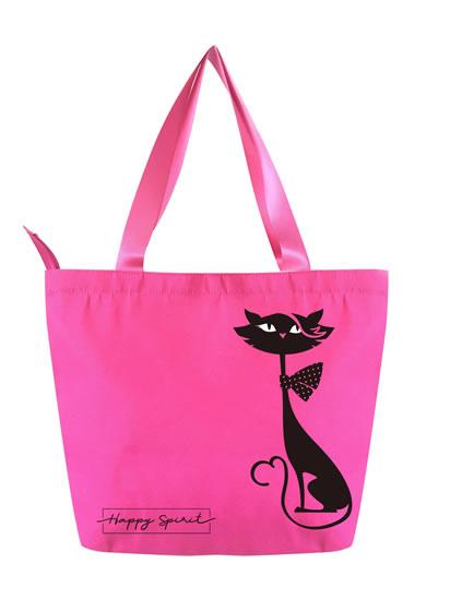 Plátěná taška Kočka - Happy Spirit Design