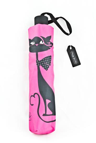 Deštník vystřelovací skládací Kočka - Happy Spirit Design