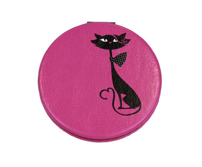 Zrcátko kompaktní Kočka - Happy Spirit Design