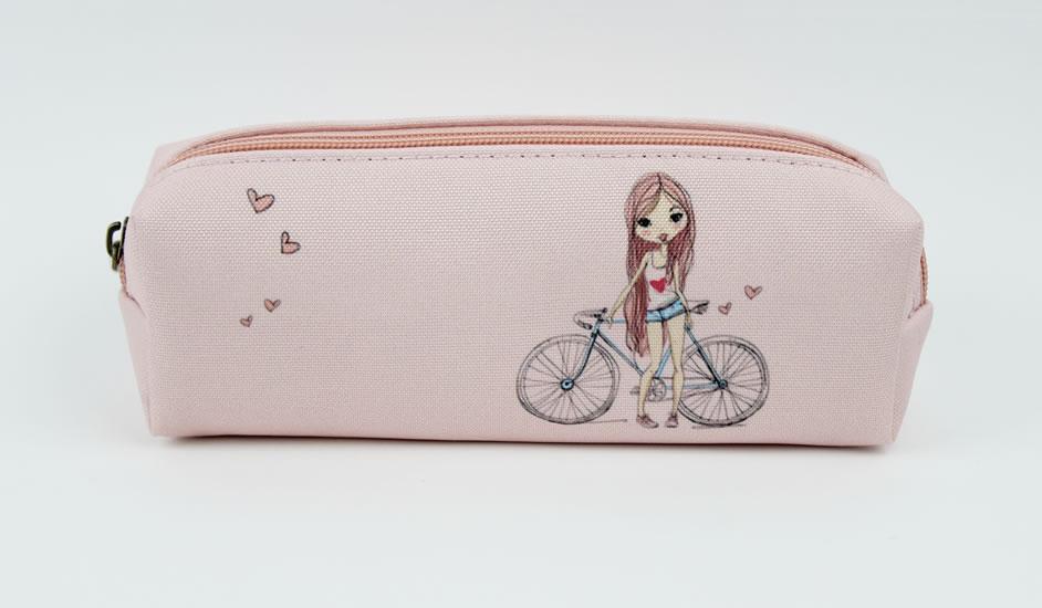 Penál textilní Dívka - Happy Spirit Design