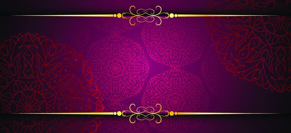 Obálka na peníze Luxusní květy - Obálky na peníze