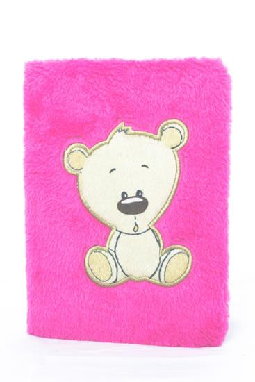 Blok plyšový Medvídek - Bloky a bločky