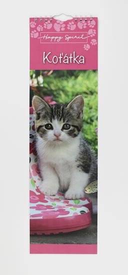 Kalendář slim: Koťátka