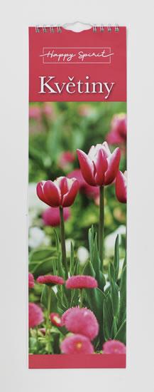 Kalendář slim: Květiny