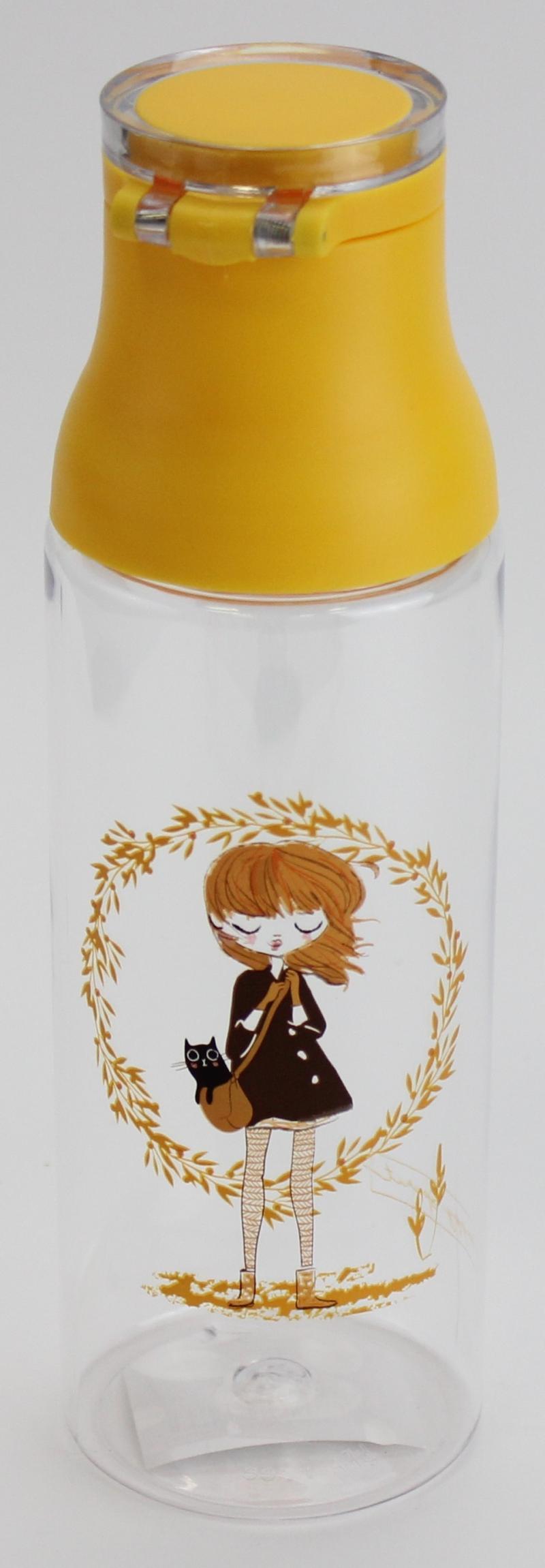 Tritanová lahev 700 ml Kočka a slečna