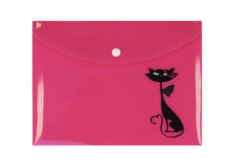 Pouzdro na dokumenty A5: Kočka