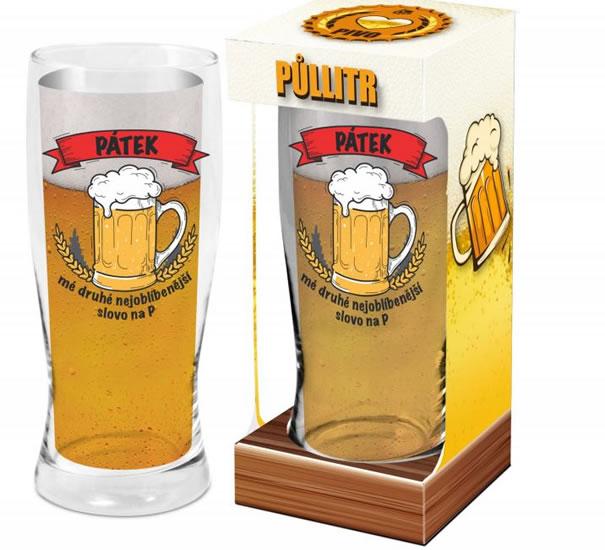 Půllitr Pátek - Máme rádi pivo