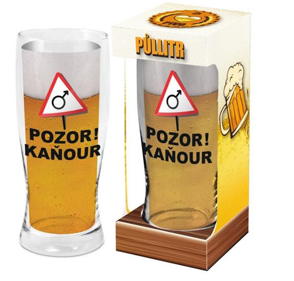 Půllitr Kaňour - Máme rádi pivo