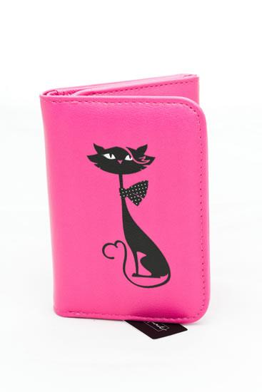 Peněženka střední Kočka - Happy Spirit Design