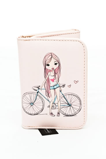 Peněženka střední Dívka - Happy Spirit Design