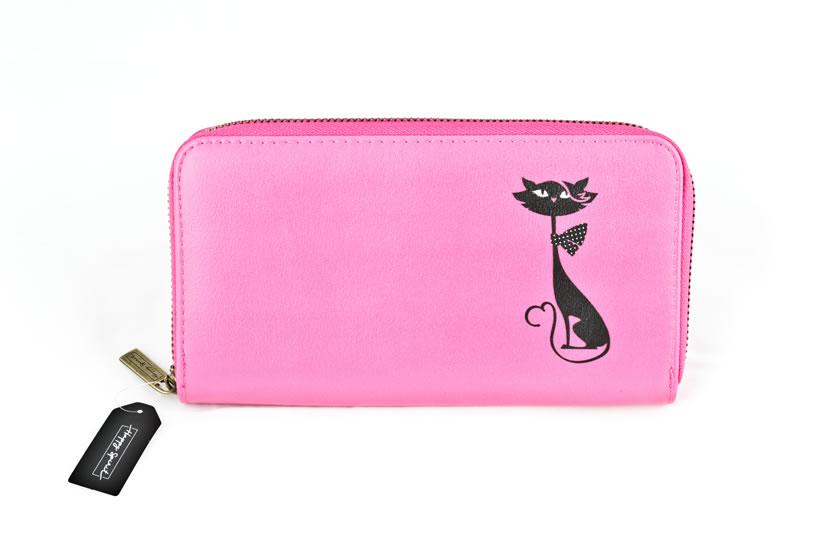 Peněženka velká Kočka - Happy Spirit Design