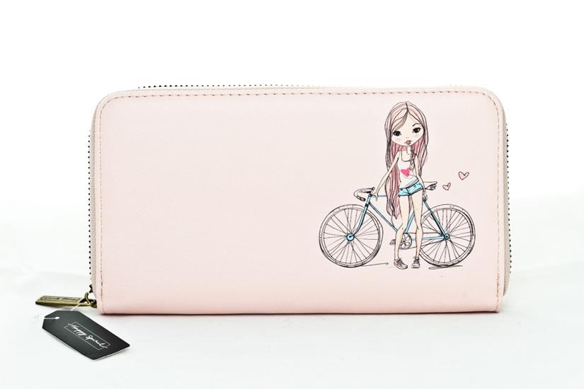 Peněženka velká Dívka - Happy Spirit Design