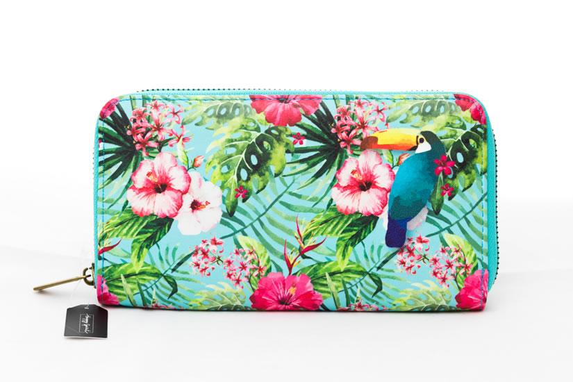 Peněženka velká Tropical - Happy Spirit Design