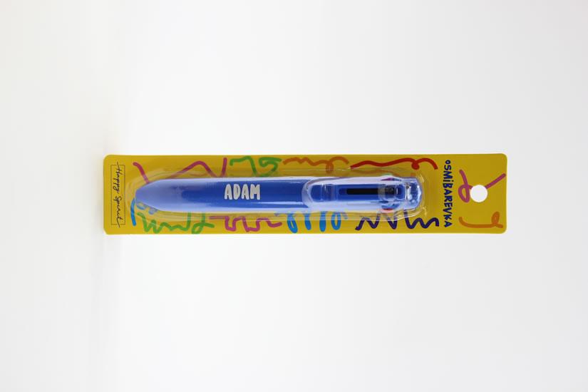 Osmibarevná propiska Adam