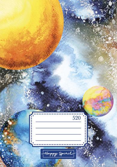 Školní sešit 520 Vesmír - Sešity