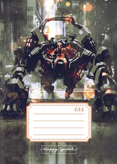 Školní sešit 644 Robot - Sešity