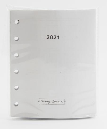 Kalendárium 2021 do diáře UNI S - Designové diáře 2021