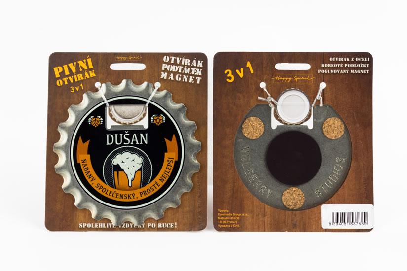 Pivní otvírák Dušan
