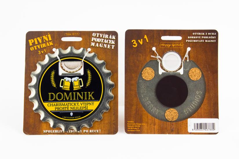 Pivní otvírák Dominik