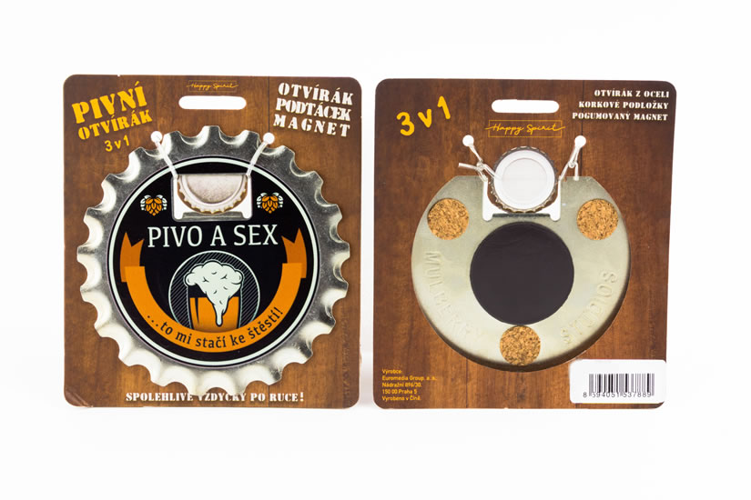 Pivní otvírák Pivo a sex