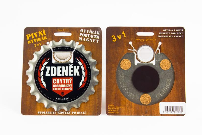 Pivní otvírák Zdeněk