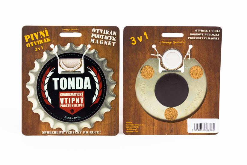 Pivní otvírák Tonda