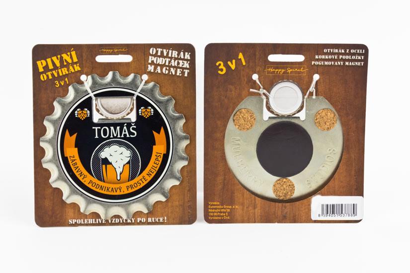 Pivní otvírák Tomáš