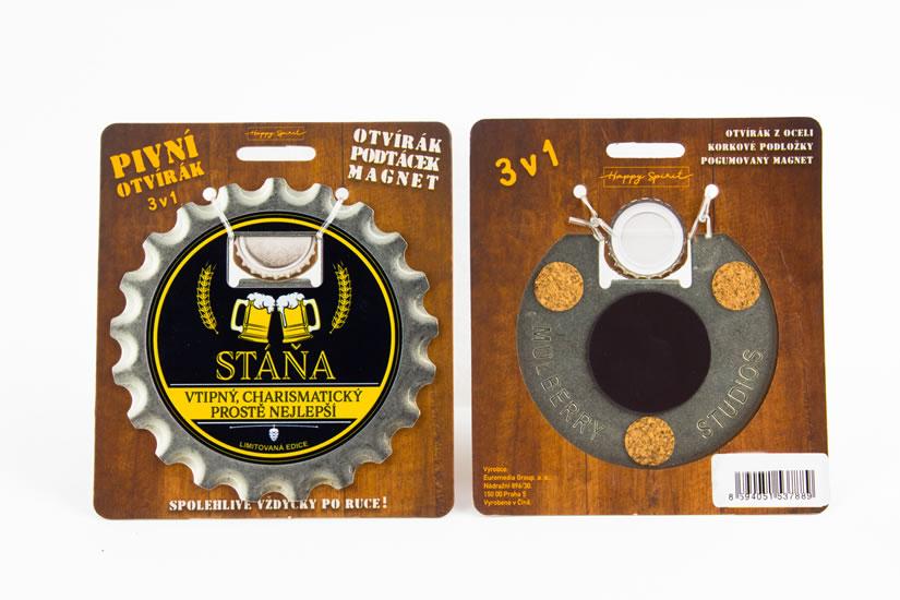 Pivní otvírák Stáňa