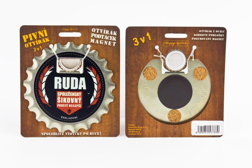 Pivní otvírák Ruda