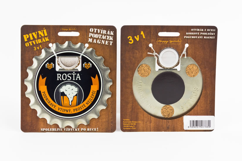 Pivní otvírák Rosťa