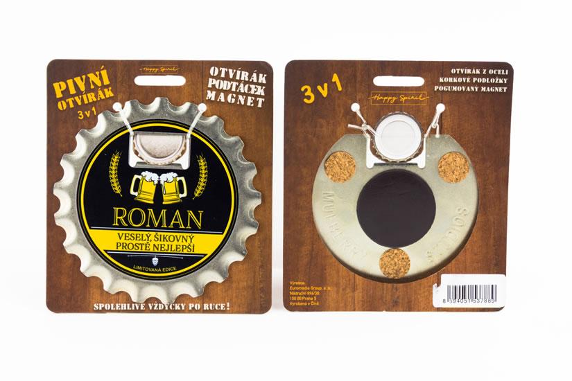 Pivní otvírák Roman