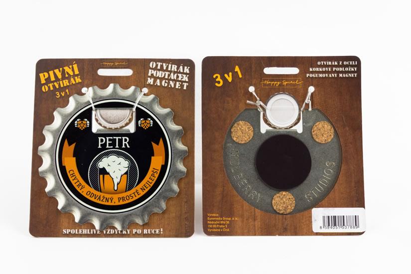 Pivní otvírák Petr