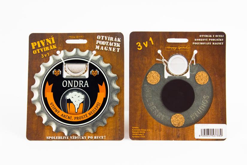 Pivní otvírák Ondra