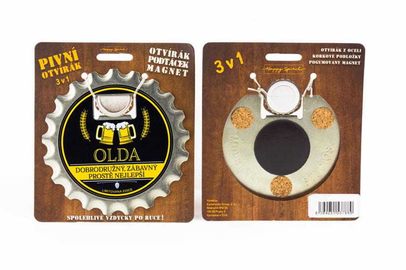 Pivní otvírák Olda