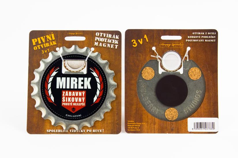 Pivní otvírák Mirek