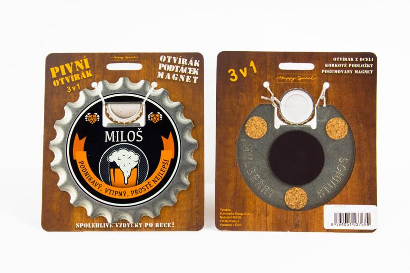 Pivní otvírák Miloš