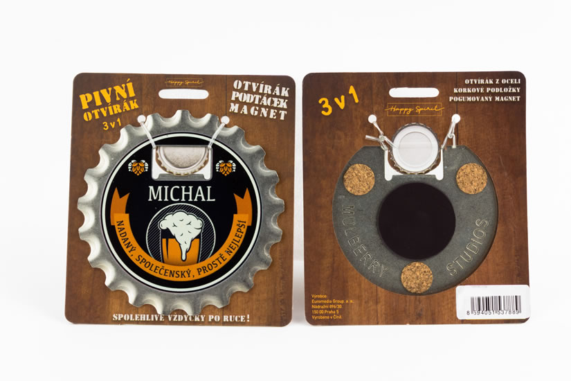Pivní otvírák Michal