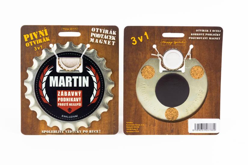 Pivní otvírák Martin