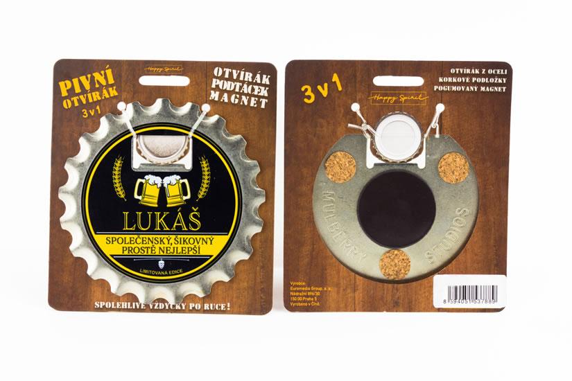 Pivní otvírák Lukáš