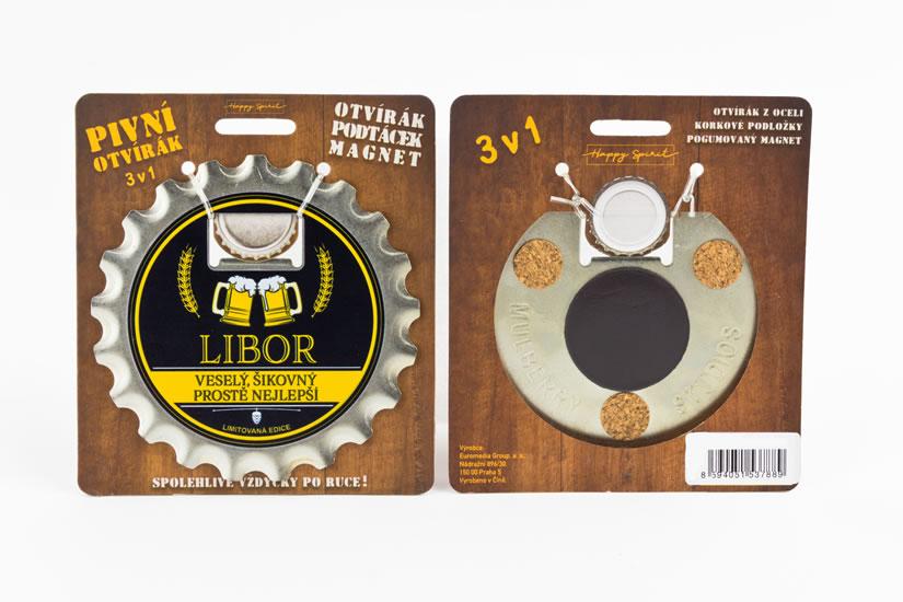 Pivní otvírák Libor